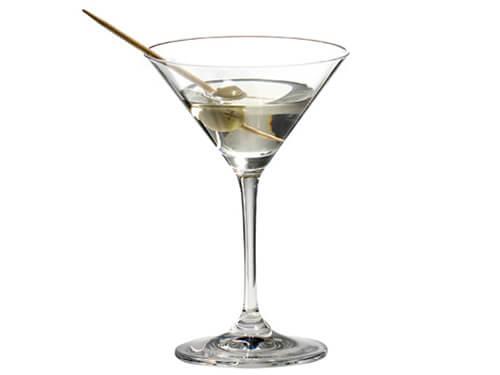 One Kitchen Dry Martini im Martiniglas